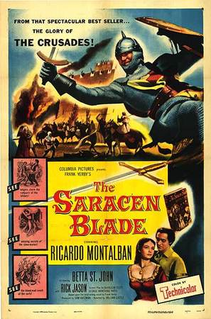 The Saracen Blade - Movie Poster (thumbnail)
