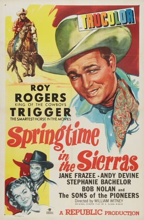 Springtime in the Sierras - Movie Poster (thumbnail)