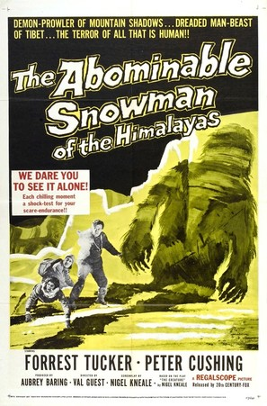 The Abominable Snowman - Movie Poster (thumbnail)