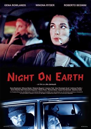Night on Earth - Swedish Movie Poster (thumbnail)
