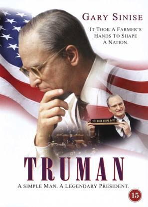 Truman - DVD movie cover (thumbnail)