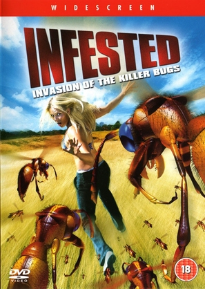 Infested - British DVD cover (thumbnail)