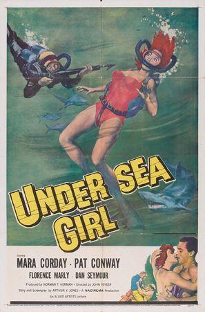 Undersea Girl - Movie Poster (thumbnail)