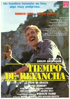Tiempo de revancha - Argentinian Movie Poster (thumbnail)