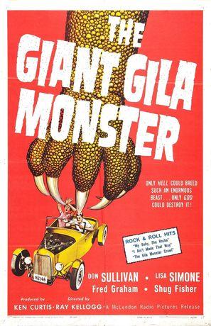 The Giant Gila Monster - Movie Poster (thumbnail)