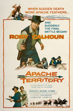 Apache Territory - Movie Poster (thumbnail)