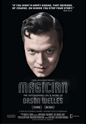 Magician: The Astonishing Life and Work of Orson Welles - Movie Poster (thumbnail)
