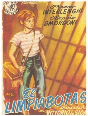 Sciuscià - Spanish Movie Poster (thumbnail)