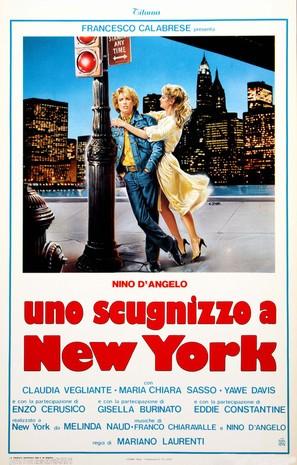 Uno scugnizzo a New York - Italian Movie Poster (thumbnail)