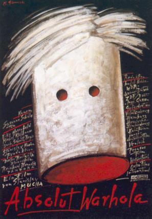 Absolut Warhola - German poster (thumbnail)