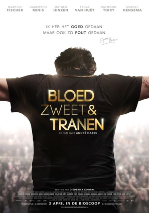 Bloed, Zweet en Tranen - Dutch Movie Poster (thumbnail)