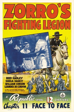 Zorro's Fighting Legion - Movie Poster (thumbnail)
