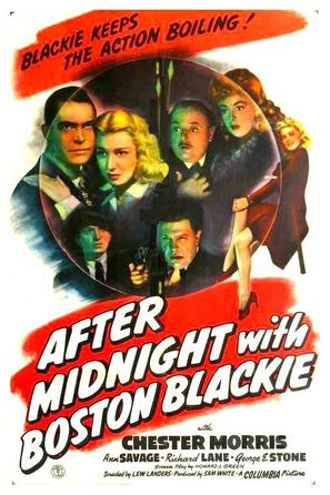 After Midnight with Boston Blackie - Movie Poster (thumbnail)