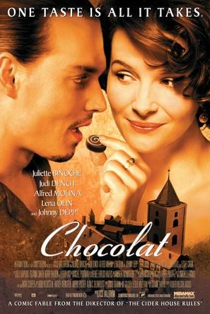 Chocolat - Movie Poster (thumbnail)