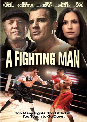 A Fighting Man - DVD movie cover (thumbnail)