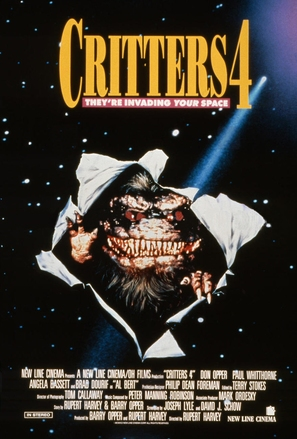 Critters 4 - Movie Poster (thumbnail)