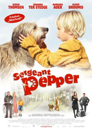Sergeant Pepper - German Movie Poster (thumbnail)