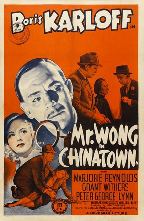 Mr. Wong in Chinatown - Movie Poster (thumbnail)