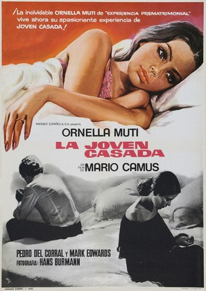La joven casada - Spanish Movie Poster (thumbnail)