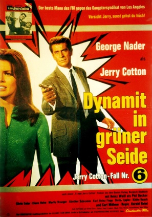 Dynamit in grüner Seide - German Movie Poster (thumbnail)