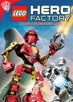 """""""LEGO HERO Factory: Rise of the Rookies"""" - DVD movie cover (thumbnail)"""