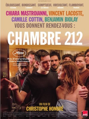 Chambre 212 - French Movie Poster (thumbnail)