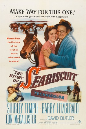 The Story of Seabiscuit - Movie Poster (thumbnail)