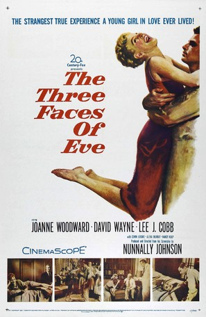 The Three Faces of Eve - Movie Poster (thumbnail)