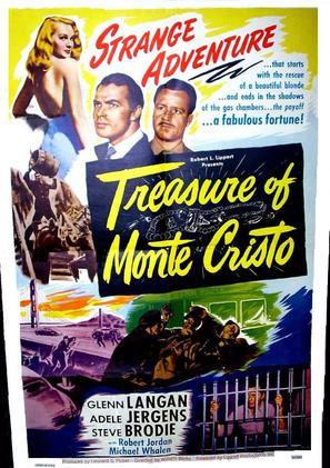 Treasure of Monte Cristo - Movie Poster (thumbnail)