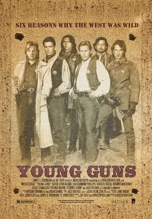 Young Guns - Movie Poster (thumbnail)