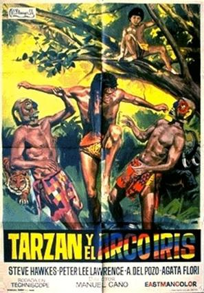 Tarzán y el arco iris - Spanish Movie Poster (thumbnail)