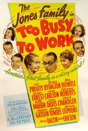 Too Busy to Work