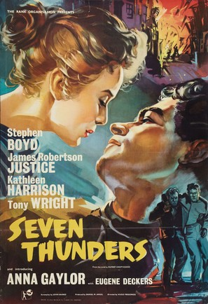 Seven Thunders - British Movie Poster (thumbnail)