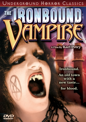 The Ironbound Vampire - DVD cover (thumbnail)