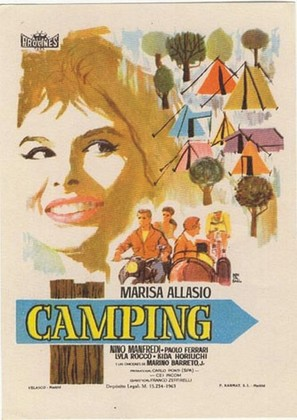 Camping - Spanish Movie Poster (thumbnail)
