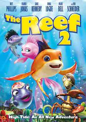 The Reef 2: High Tide - DVD cover (thumbnail)