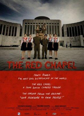Det røde kapel - Danish Movie Poster (thumbnail)