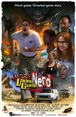 Angry Video Game Nerd: The Movie - Movie Poster (thumbnail)