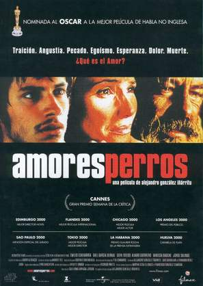 Amores Perros - Spanish Movie Poster (thumbnail)