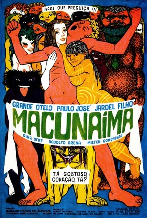 Macunaíma - Brazilian Movie Poster (thumbnail)