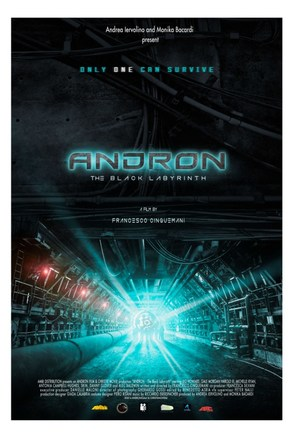 Andròn - The Black Labyrinth - Italian Movie Poster (thumbnail)