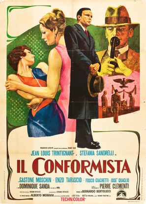Il conformista - Italian Movie Poster (thumbnail)