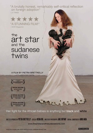 The Art Star and the Sudanese Twins - Movie Poster (thumbnail)