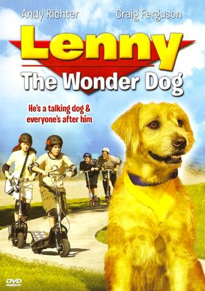 Lenny the Wonder Dog - DVD movie cover (thumbnail)