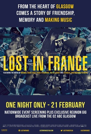 Lost in France - British Movie Poster (thumbnail)