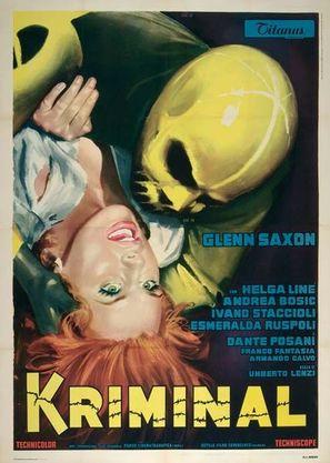 Kriminal - Italian Theatrical poster (thumbnail)