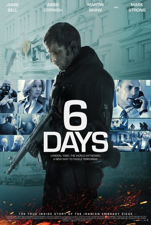 6 Days - British Movie Poster (thumbnail)