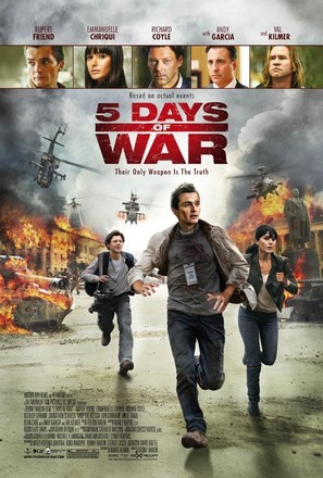 5 Days of War - Movie Poster (thumbnail)