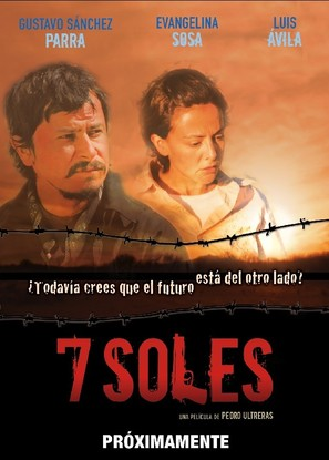 7 soles - Mexican Movie Poster (thumbnail)