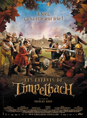 Les enfants de Timpelbach - French Movie Poster (thumbnail)